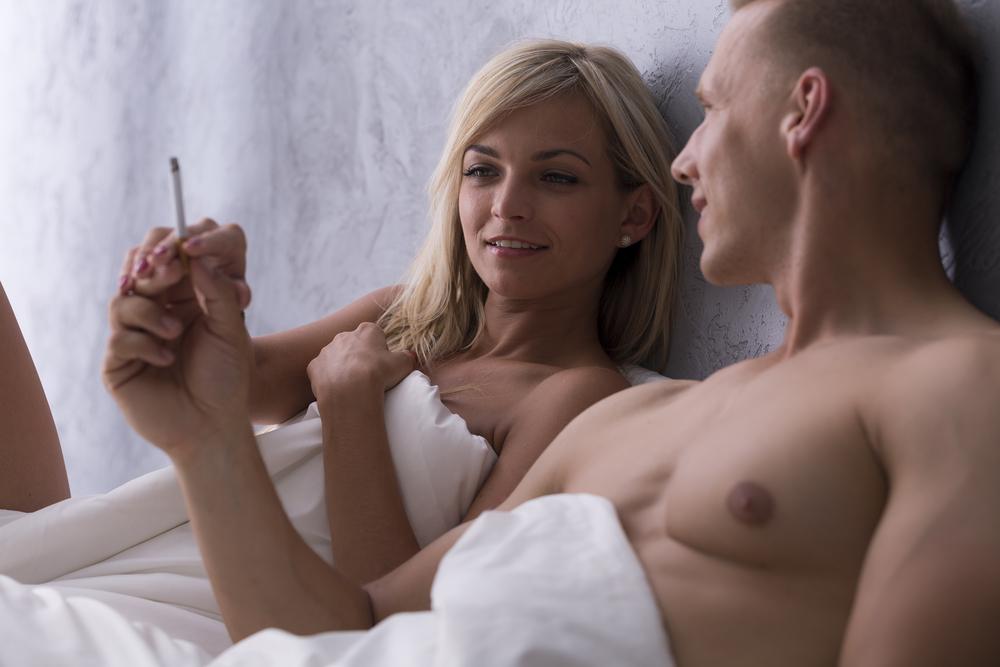 Sigaretten en hete sex - deel 1